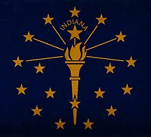Indiana State Flag VINTAGE by Carolina Swagger