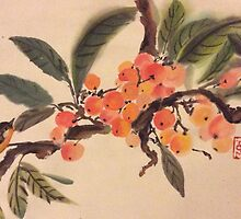 Kumquat paradise by Rosalind Clarke