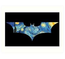 Starry Knight Art Print