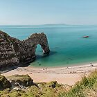 Durdle Door , Dorset UK by Pauline Tims