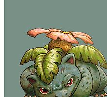 Level100 Venusaur by GrizzlyJerr