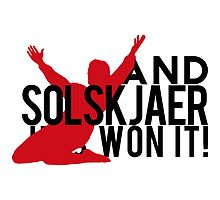 And Solskjaer Has Won It!  by tookthat