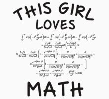 This girl loves math by Stock Image Folio