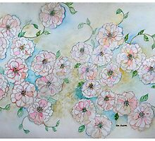 ROSES IN ABUNDANCE 10 by Gea Austen