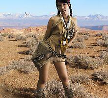 Native Huntress by somX0