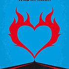 No337 My WILD AT HEART minimal movie poster by Chungkong