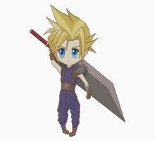 Cloud - Final Fantasy VII Kids Clothes