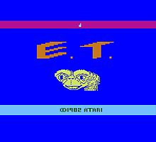 E.T - Atari 2600 by Griffin Laking