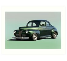 1941 Ford Coupe 1 'Studio' Art Print