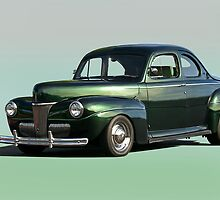 1941 Ford Coupe 1 'Studio' by DaveKoontz