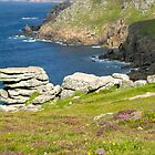 Coastal Path to Sennen by Claudia Dingle