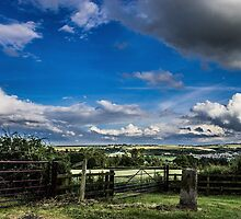 Cloudy Landscape by Jack Steel