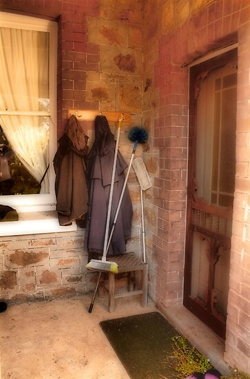 Coats and Brooms by Elaine Teague