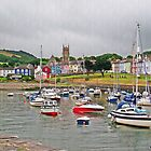 Harbour at Aberaeron, Wales by trish725