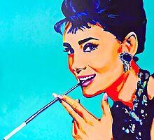 Audrey Hepburn by MissAnnaHall