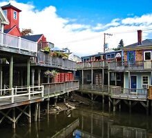 Kennebunk River Kennebunkport Maine  by lifetravelphoto