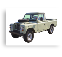 1971 Land Rover Pick up Truck Canvas Print