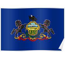 Pennsylvania State Flag Poster