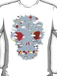 Skull Sky Pandas T-Shirt