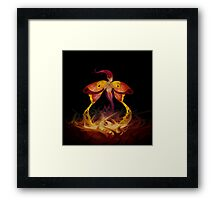 Fairy Butterfly Framed Print