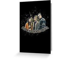 Best Dead Friends Forever || In The Flesh Greeting Card