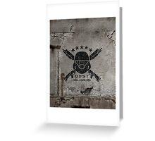 ODST Helljumpers (Black Scratched) Greeting Card