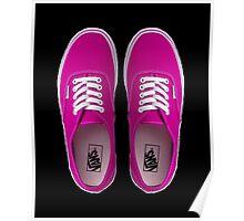 Vans - Pink Poster