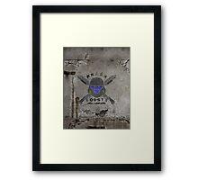 ODST Helljumpers (Color Scratched) Framed Print