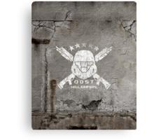 ODST Helljumpers (White Scratched) Canvas Print