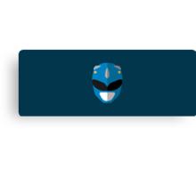 Mighty Morphin Power Rangers - Blue Ranger Canvas Print