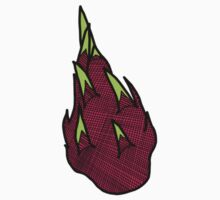Dragonfruit Sticker by tosojourn