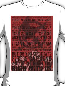 The Hunger Games Typography T-Shirt