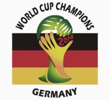 2014 FIFA World Cup Champions Germany by Sastimasa