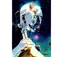 Merlin in the Cosmos Photographic Print