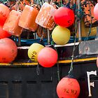 buoys by Anne Scantlebury