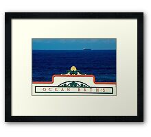 Newcastle Icon Framed Print