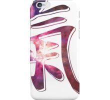 Heart of Orion Nebula | Chi Symbol | Fresh Universe iPhone Case/Skin