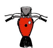 Red Bike by djak