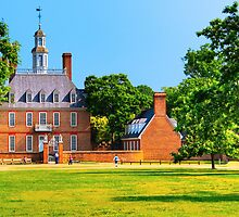 Old Grandeur - Royal Governor's Palace in Williamsburg by Mark Tisdale