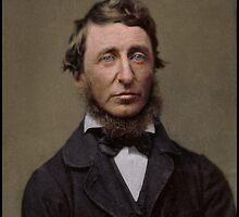 Henry David Thoreau, 1856 by Dana Keller