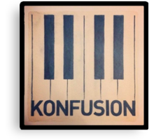 Konfusion, Something Corporate Canvas Print