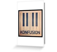 Konfusion, Something Corporate Greeting Card