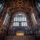 HDR Photograph of Ely Cathedral Lady Chapel. by Art Hakker Photography