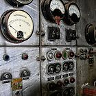 Electrical Switchboard on Cockatoo Island/Sydney/NSW/Australia by Wolf Sverak