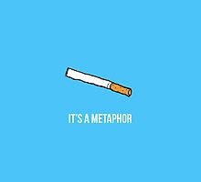 It's a metaphor by amyskhaleesi
