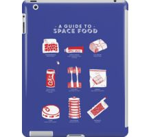 A Guide to Space Food iPad Case/Skin