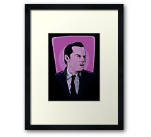 You're on the side of the angels Sherlock Framed Print