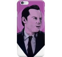 You're on the side of the angels Sherlock iPhone Case/Skin