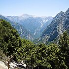 The Samaria Gorge by John (Mike)  Dobson