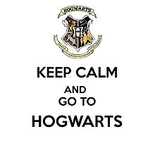 Keep calm and go to hogwarts, potterhead university by alish